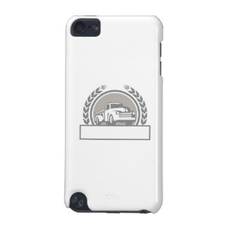 Vintage Pick Up Truck Circle Retro iPod Touch 5G Cover