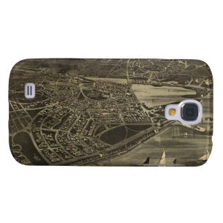 Vintage Pictorial Map of Cottage City (1890) Samsung Galaxy S4 Case