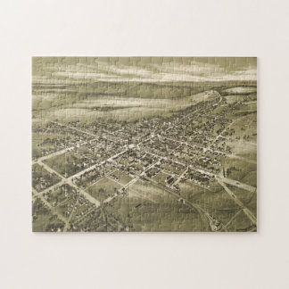 Vintage Pictorial Map of Gettysburg PA (1888) Jigsaw Puzzle