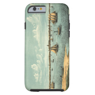 Vintage Pictorial Map of Provincetown (1887) Tough iPhone 6 Case