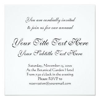 Vintage Pig Antique Print 13 Cm X 13 Cm Square Invitation Card