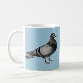Vintage Pigeon gifts Basic White Mug