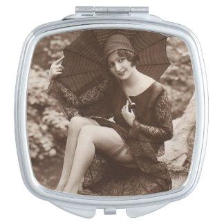 Vintage Pin-up Girl Vanity Mirrors