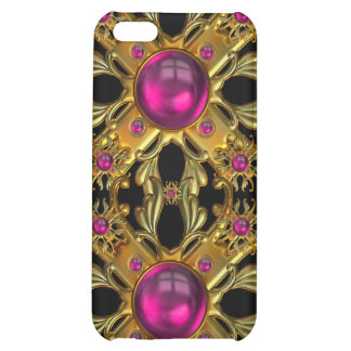 Vintage pink and Gold Jewels Image  iPhone 5C Cases