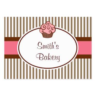 Vintage Pink Cupcake Business Card