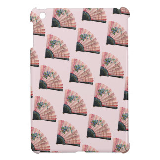 Vintage Pink Fans iPad Mini Covers