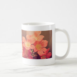 Vintage Pink Flowers Coffee Mug