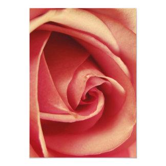 Vintage Pink Love Rose Card