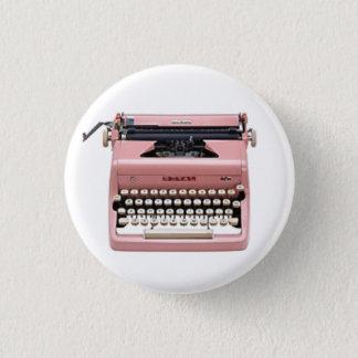Vintage Pink Manual Typewriter Pin