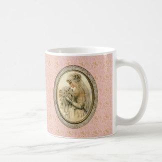 Vintage Pink More Beautiful Bride Framed Mug Basic White Mug