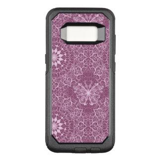 Vintage Pink Pattern OtterBox Commuter Samsung Galaxy S8 Case