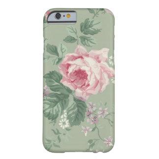 Vintage Pink Rose Floral iPhone 6 case
