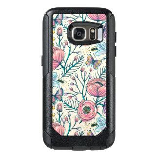 Vintage Pink Rose Flower Samsung Galaxy S7 Case