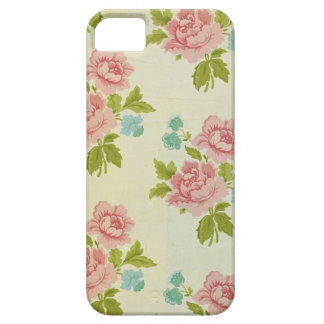 Vintage Pink Rose iPhone 5 5S Case