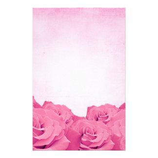 Vintage Pink Rose Stationery