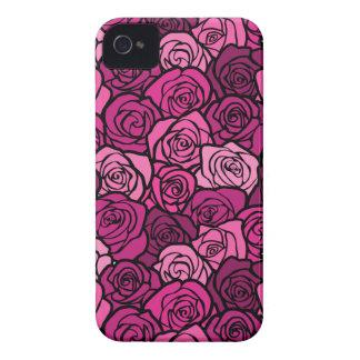 Vintage pink roses BlackBerry Bold Case