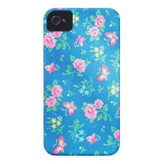 Vintage Pink Roses iPhone 4 Case