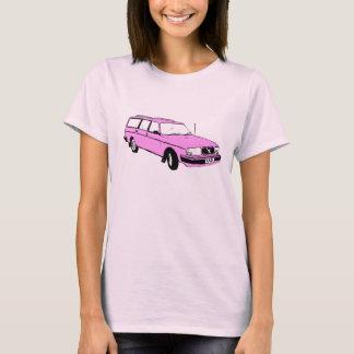 Vintage Pink Station Wagon T-Shirt