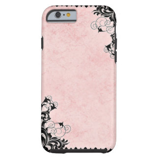 Vintage Pink Tough iPhone 6 Case