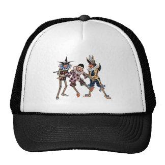 Vintage Pinocchio Illustration Hats