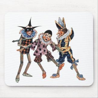Vintage Pinocchio Illustration Mousepad