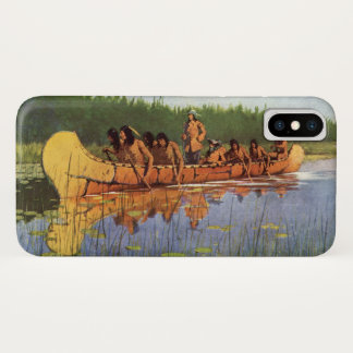 Vintage Pioneers, Great Explorers by Remington iPhone X Case