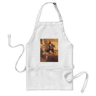 Vintage Pirate Captain, Sword Fight by NC Wyeth Standard Apron