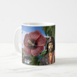 Vintage Pirate Collage Coffee Mug
