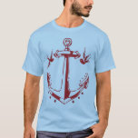 Vintage Pirate Tattoo Anchor & Sparrow Tee