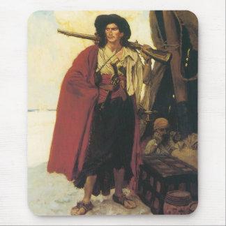 Vintage Pirates Buccaneer was a Picturesque Fellow Mousepad