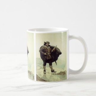 Vintage Pirates, Captain Bill Bones by NC Wyeth Coffee Mug