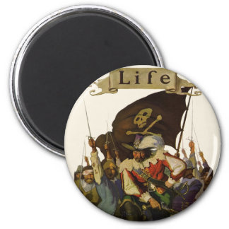 Vintage Pirates of Life 1921 Magnet