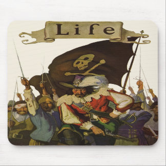 Vintage Pirates of Life 1921 Mouse Pads