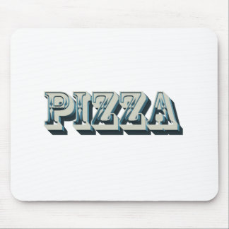 Vintage Pizza for trendy hipsters and foodies Mouse Pad