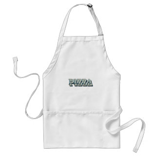 Vintage Pizza for trendy hipsters and foodies Standard Apron
