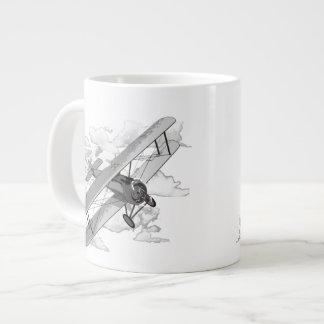 Vintage Plane Jumbo Mug