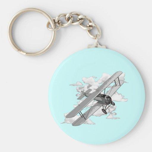 Vintage Plane Keychains