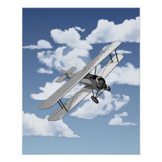 Vintage Plane Posters
