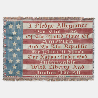 Vintage Pledge Of Allegiance