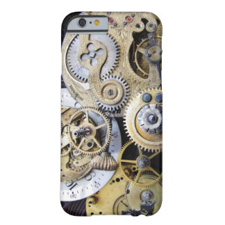Vintage Pocket Watch Gears for Steampunk iphone Barely There iPhone 6 Case