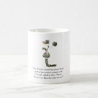 Vintage Poem Miss Parsley Rhyme Cute Vegetable Coffee Mug