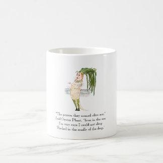 Vintage Poem Oyster Plant Vegetable Rhyme Cute Coffee Mug
