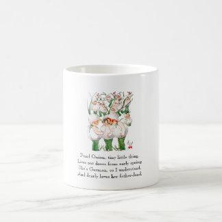 Vintage Poem Pearl Onions Cute Kids Vegetables Coffee Mug