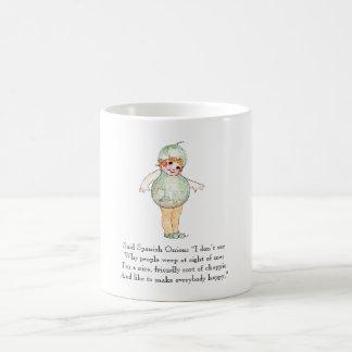 Vintage Poem Spanish Onion Cute Kids Mug