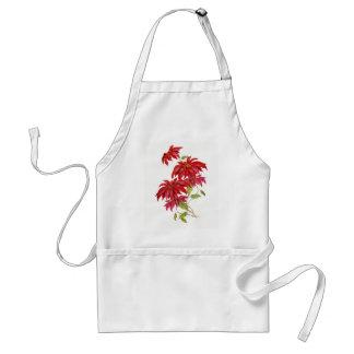 Vintage Poinsettia Flower Standard Apron