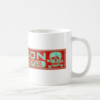 Vintage Poison Label Coffee Mug