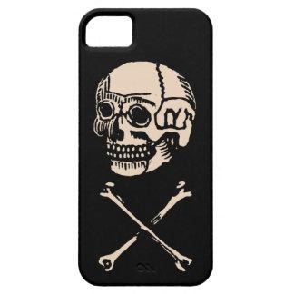 Vintage Poison Skull & Crossbones iPhone 5 Covers