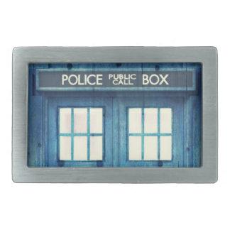 Vintage Police phone Public Call Box Belt Buckles