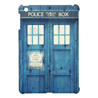 Vintage Police phone Public Call Box iPad Mini Cover