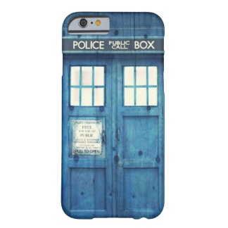 Vintage Police phone Public Call Box iPhone 6 Case